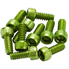 Reverse US Pedal Pin Set for Escape Pro/Black One Alu light green